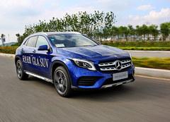 北京奔驰新款GLA试驾