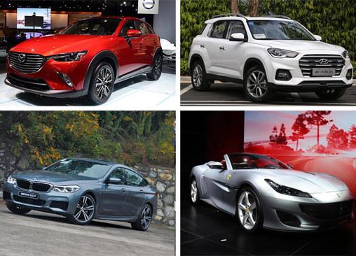 2017广州车展上市新车汇总 共计30款车型