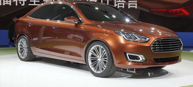 2014广州车展 福睿斯预售9.98-12.48万
